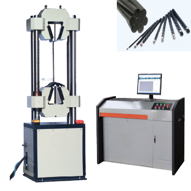 steel strand testing machine